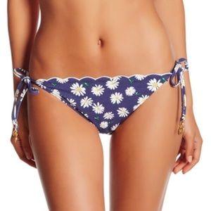 BNWT Sperry blue daisy print string bikini Sz S